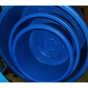サミット丸桶 LH−130 【大型商品 送料別途見積 代引/同梱不可】|nishikigoiootani