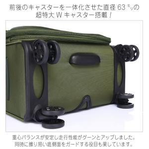 キャリーバッグ ソフト スーツケース 大型 L...の詳細画像5