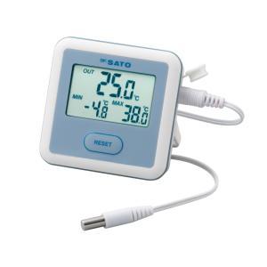 佐藤計量器 SATO 冷蔵庫用温度計 PC-3300|nishikoki-online