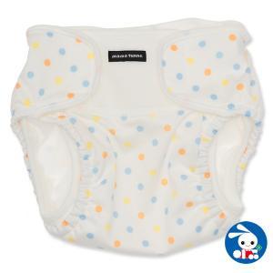 ベビー服  女の子 外ベルトタイプおむつカバー(水玉) 55-80cm 赤ちゃん ベビー 新生児 乳児 幼児 子供服 おしゃれ|nishimatsuya