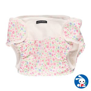 ベビー服 新生児 小花柄オムツカバー 55-80cm 男の子 女の子 赤ちゃん ベビー 乳児 幼児 子供服 おしゃれ|nishimatsuya