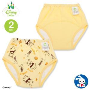 ベビー服  男の子 2枚組3層トレーニングパンツ(プーさん) 80cm・90cm・95cm・100cm 赤ちゃん ベビー 新生児 乳児 幼児 子供服|nishimatsuya