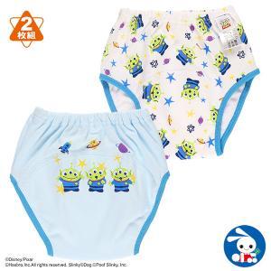 ベビー服 男の子 2枚組3層スムーストレーニングパンツ(エイリアン) 80cm・90cm・95cm・100cm 赤ちゃん ベビー 新生児 乳児 幼児|nishimatsuya
