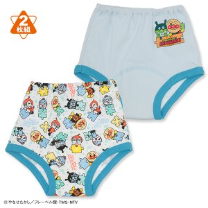 ベビー服  男の子 2枚組トレーニングパンツ(アンパンマン) 90cm・95cm・100cm 赤ちゃん ベビー 新生児 乳児 幼児 子供服 おしゃれ|nishimatsuya