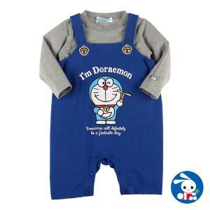 ベビー服 男の子 アイムドラえもん長袖Tシャツ付きコンポスーツ 80cm・90cm 赤ちゃん ベビー 新生児 乳児 幼児 子供服 おしゃれ|nishimatsuya