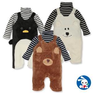 ベビー服 男の子 タートルコンポスーツ 70cm・80cm・90cm 赤ちゃん ベビー 新生児 乳児 幼児 子供服 おしゃれ|nishimatsuya