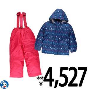 子供服 女の子 冬 星ボーダー柄ジャンプスーツ 120cm・130cm・140cm ガールズ 女児 キッズ ベビー 小児 児童 子ども服 おしゃれ|nishimatsuya