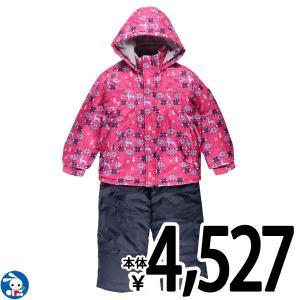 子供服 女の子 冬 トナカイ柄ジャンプスーツ 100cm・110cm・120cm・130cm ガールズ 女児 キッズ ベビー 小児 児童 子ども服|nishimatsuya