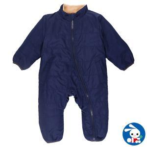ベビー服 男の子 秋冬 裏ボアエステルジャンプスーツ 80cm・90cm 赤ちゃん ベビー 新生児 乳児 幼児 子供服 おしゃれ|nishimatsuya