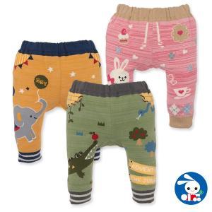 ベビー服 男の子 冬 アニマルサルエルパンツ 60-70cm 赤ちゃん ベビー 新生児 乳児 幼児 子供服 おしゃれ|nishimatsuya