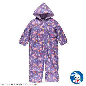 子供服 女の子 ボンボンリボンジャンプスーツ 100cm・110cm ガールズ 女児 キッズ ベビー 小児 児童 子ども服 おしゃれ|nishimatsuya