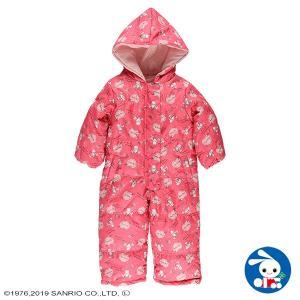 ベビー服 女の子 冬 スキージャンプスーツ(マイメロディ) 90cm 赤ちゃん ベビー 新生児 乳児 幼児 子供服 おしゃれ|nishimatsuya