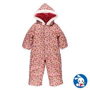ベビー服 女の子 冬 ヒョウ柄ジャンプスーツ 90cm 赤ちゃん ベビー 新生児 乳児 幼児 子供服 おしゃれ|nishimatsuya