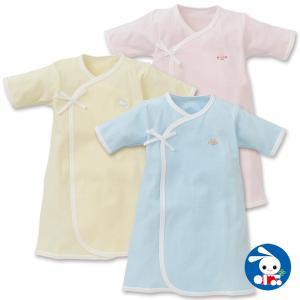 ベビー服 新生児 パイルAラインドレス(刺繍ワンポイント) 新生児50-60cm 男の子 女の子 赤ちゃん ベビー 乳児 幼児 子供服 おしゃれ|nishimatsuya