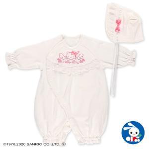 ベビー服 新生児 パイルセレモニーセット(ハローキティ) 新生児50-70cm 男の子 女の子 赤ちゃん ベビー 乳児 幼児 子供服 おしゃれ|nishimatsuya