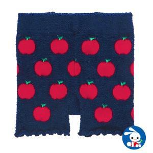 子供服 女の子 冬 1分丈オーバーパンツ(リンゴ) 100-120cm ガールズ 女児 キッズ ベビー 小児 児童 子ども服 おしゃれ|nishimatsuya