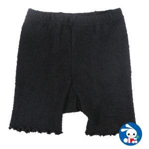 子供服 女の子 冬 1分丈オーバーパンツ(編みブラック) 120-150cm ガールズ 女児 キッズ ベビー 小児 児童 子ども服 おしゃれ|nishimatsuya