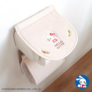 ハローキティ 洗えるトイレットペーパーホルダーカバー|nishimatsuya