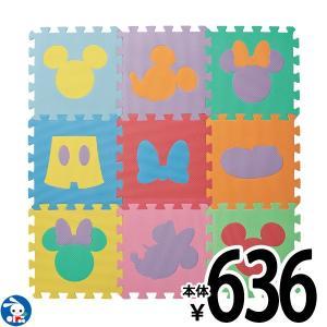 デザインマット ミッキーマウス&ミニーマウス(カラー)9枚入り