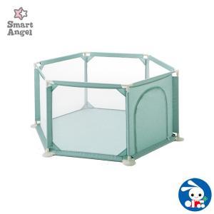 Smart Angel)ソフトベビーサークル(ミントグリーン)|nishimatsuya