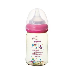 ピジョン)母乳実感 哺乳びん(プラスチック製 トイボックス)160ml