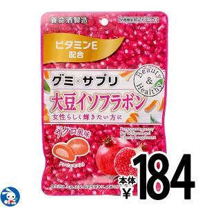 養命酒製造)グミ×サプリ 大豆イソフラボン 40g(4g×10粒) ザクロ風味|nishimatsuya