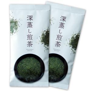鹿児島 かのや深蒸し茶 100g×2袋 さえみどりブレンド 荒づくり仕上げ|nishio-cha
