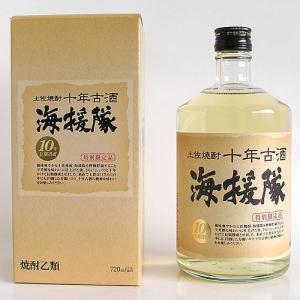 米焼酎 土佐鶴酒造 海援隊 十年古酒25°720ml  箱入