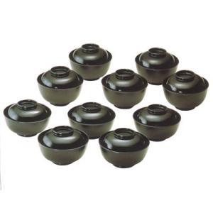 茶道具・茶懐石 木製うるし塗 茶懐石小丸椀(五客入)485002|nishiyamashikki