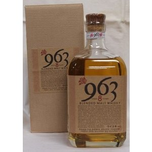 福島・笹の川酒造【963 8年】ブレンデッドモルトウイスキー59% 700ml