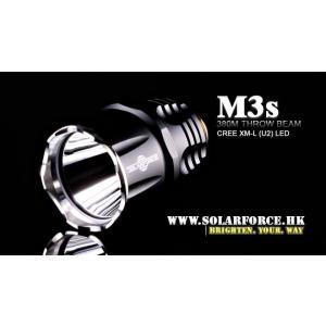 Solarforce M3s U2 CREE LED フラッシュライトヘッド|nishoyokostore