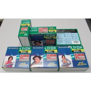 CD-RW 650MB アンフォーマット フジフィルム CD-RW650B10P 10枚入り 未開封 6箱セット nisimino-shop