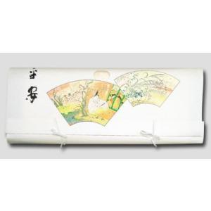 折らずに発送薄紙付きもの文庫紙(たとう紙) 平安柄87cm(着物用)内張付 5枚組|nissenren-kitaq
