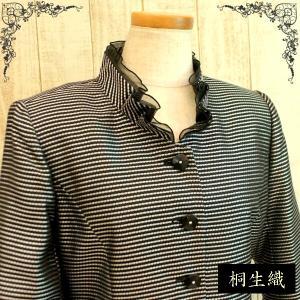 フォーマルジャケット ジャケット 日本製素材 桐生織 結婚式、七五三に ミセス向け 50代 60代 70代 nissenren-numazu