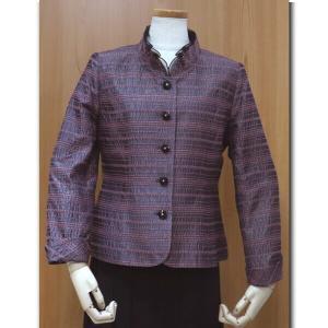 フォーマルジャケット  ワインレッド 夏まで着れる素材 結婚式 食事会 などに オールシーズンタイプ お母様 お婆様 の衣装 50代 60代 70代 nissenren-numazu