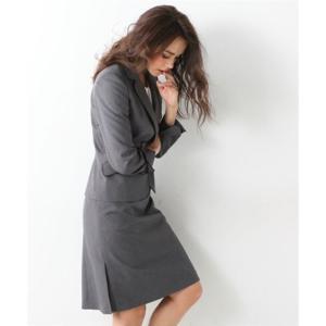 レディーススーツ 洗える◎足さばきのよいサイドタックタイトスカートスーツ ニッセン nissen|nissenzai|12