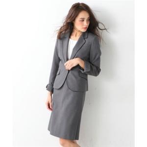 レディーススーツ 洗える◎足さばきのよいサイドタックタイトスカートスーツ ニッセン nissen|nissenzai|13