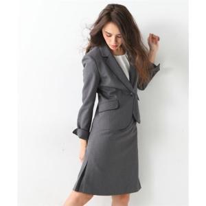レディーススーツ 洗える◎足さばきのよいサイドタックタイトスカートスーツ ニッセン nissen|nissenzai|14