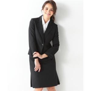 レディーススーツ 洗える◎足さばきのよいサイドタックタイトスカートスーツ ニッセン nissen|nissenzai|16