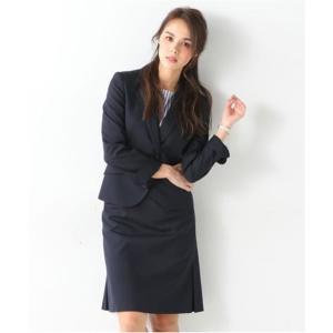 レディーススーツ 洗える◎足さばきのよいサイドタックタイトスカートスーツ ニッセン nissen|nissenzai|17