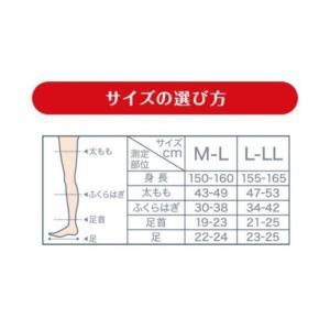 ストッキング・タイツ メディキュット 着圧スレンダーマジックストッキング ニッセン nissen|nissenzai|06