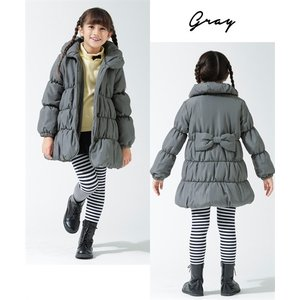 13043a8c80599 ... キッズ 後リボンAライン コート 女の子 子供服・ジュニア服 身長100 110 ...