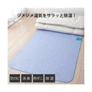 洗える多機能除湿シート 除湿・防ダニ・防カビ・消臭 年中  シングル ニッセン|nissenzai