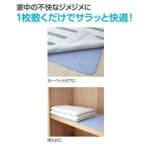 洗える多機能除湿シート 除湿・防ダニ・防カビ・消臭 年中  シングル ニッセン|nissenzai|05