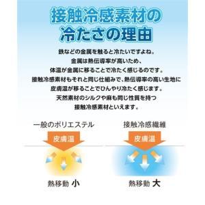 接触冷感× 吸汗速乾 タオル 地リバーシブル敷 パッド 年中  シングル ニッセン|nissenzai|04