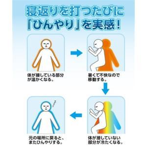 接触冷感× 吸汗速乾 タオル 地リバーシブル敷 パッド 年中  シングル ニッセン|nissenzai|05