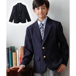 dad4feb5f8b91 アウター キッズ 卒業式 ブレザー(男の子 子供服 ジュニア服) 春 フォーマル ウェア スーツ 身長140 150 160cm ニッセン