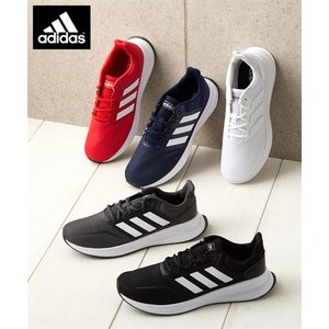 adidas 大きいサイズ メンズ FALCONRUN 靴 24.5〜32cm ニッセン