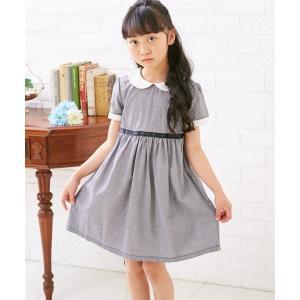 32900215d1f0f ワンピース ドレス フォーマル キッズ 衿付き 女の子 子供服 ウェア スーツ 身長90 100 110 120cm ニッセン