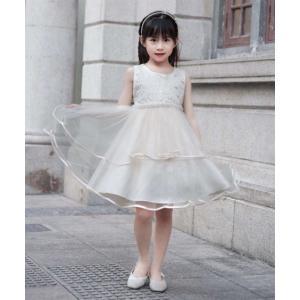 868f7b6a54685 ワンピース ドレス フォーマル キッズ 花パーティ 女の子 子供服 ウェア スーツ 身長100 110 120 130cm ニッセン
